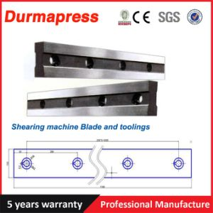 42CrMo Long Straight Shear Blade for Cutting Sheet Steel pictures & photos