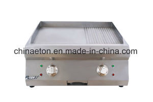 Ce&ETL Commercial Stainless Steel Counter-Top Electric Griddle (grooved) ET-PL-600K pictures & photos