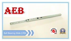 Aeb-17mm Single Extension Ball Bearing Drawer Slide pictures & photos
