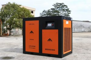 45kw/60HP August Stationary Air Cooled Screw Compressor pictures & photos