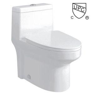 Cupc Ceramic Toilet Closet for North America Market (0318) pictures & photos