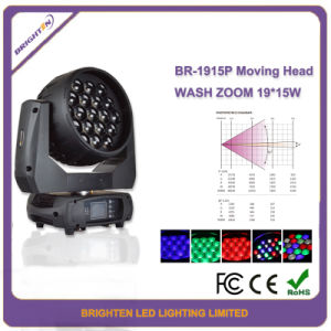 19*15W DJ Lights for Sale Mini LED Wash Moving Head pictures & photos