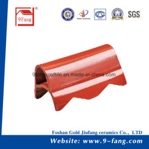Corrugated Wave Type Clay Roofing Color Steel Roof Tiles Factory Supplier pictures & photos