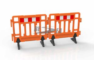 Road Safety 1.1m HDPE Plastic Fence Barrier pictures & photos
