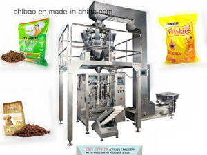Vertical Filling Automatic Granule Soyabean Packing Machine with Multihead Weighter pictures & photos