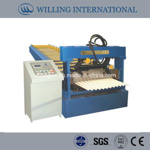 Metal Corrugated Sheet Cold Forming Machine pictures & photos