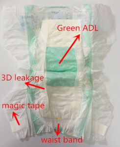 Breathable Disposable Baby Diaper with Camera Brand to Pakistan Market pictures & photos