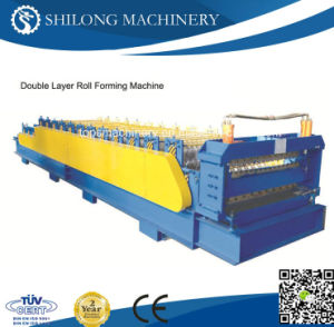 Hydraulic Automatic Color Steel Sheet Glazed Roof Tile Board Panel Roll Forming Machine pictures & photos