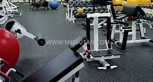 Colourful Commercial Rubber Mat Gym Rubber Flooring