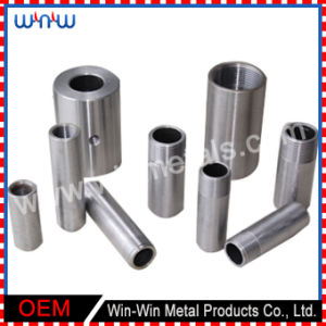 Custom Turned Part Bolt Push Stainless Steel Dowel Metal Pin with Thread pictures & photos