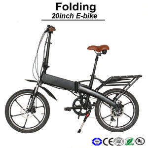 New E-Bicycle Practical E Bike Samsung Battery Electric Bike 250-500W Electric Bicycle (TDN08Z) pictures & photos