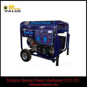 220V 230V Home Use Generator 5.5kw Gasoline Generator Zh6500 pictures & photos