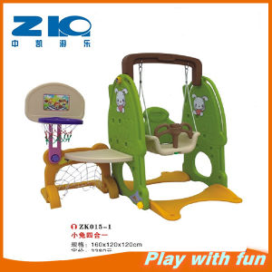 Good Quality Children Playground Slide and Swing Set on Sale pictures & photos