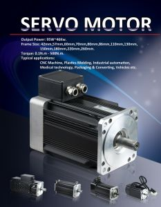 AC Servo Motor for Embroidery Machine pictures & photos