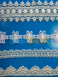 Fashionable New Style Cotton Embroidery Lace for Garments pictures & photos