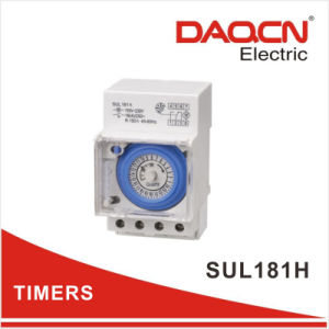 30minutes 24 Hour Daily Programmable 16A 110V-240V AC Analog Mechanical Timer Time Switch with CE RoHS (Sul181h)
