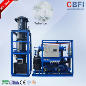 Edbile Ice Tube Air Cooled Tube Ice Making Machine pictures & photos