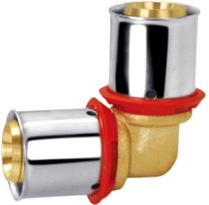 Brass Pipe Fitting with Elbow Fitting Bf-2006 pictures & photos