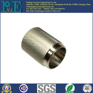 Customized Copper CNC Machining Knurl Handle pictures & photos