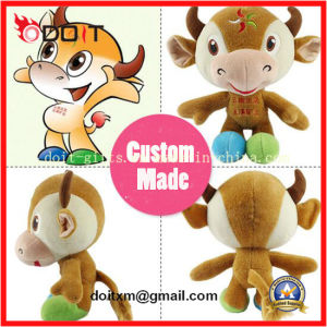 Custom Made promotional Gift Toy Stuffed Cow pictures & photos