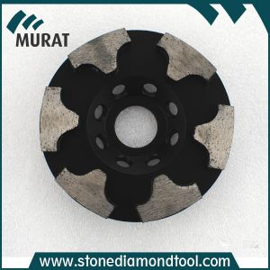 "4""/5""/7"" T Segment Diamond Cup Grinding Wheel Abrasive Disc for Stone pictures & photos"