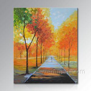 Modern 100% Handmade Landscape Oil Painting (KVL-147) pictures & photos