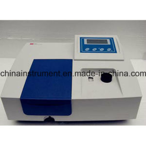 Top-Rated 200nm To1000nm Single Beam UV-Vis Spectrophotometer pictures & photos