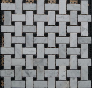 Natural Marble Stone Mosaic Tile (FYSSC146)