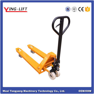 Hand Operated Hydraulic Pallet Truck Yld25A pictures & photos