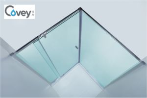 Hot Selling Semi-Frameless Shower screen in Australia (A-CVP025-01) pictures & photos