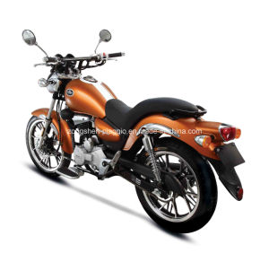 Cruiser Motorcycle Orange