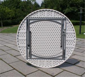 Metal Plastic Folding Round Table