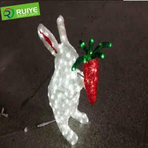 Christmas Holiday Decoration 3D Motif Rabbit Christmas Decoration pictures & photos