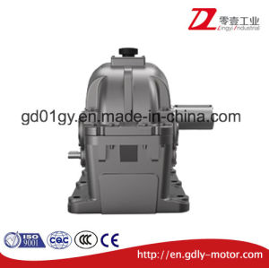 Triple Stage Reduce Speed Parallel Shaft Hardened Cylindrical Gear Box pictures & photos