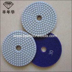 Wd-5 Premium Wet Pads for Quartz Polishing White Resin