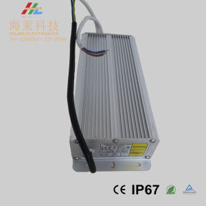 New Arrival Small Size Linear 12V 200W Waterproof IP67 LED Driver pictures & photos