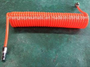 Flex Crystal Orange Air Hose with Pneumatic Valve pictures & photos