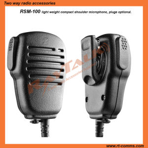 Rsm100 Two Way Radio Police Speaker Microphone pictures & photos