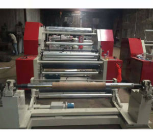 Horizontal Type Plastic Film Sliting Machine of Slitting and Rewinding Machine pictures & photos