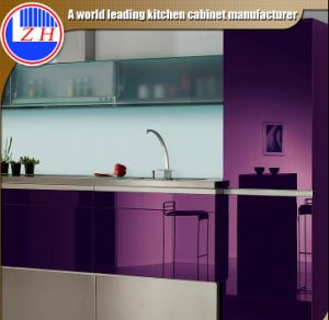 2015 New Gloss Cabinet Door Kitchen (colorful) pictures & photos