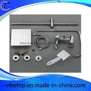 Stainless Steel Single Lever Shower Set with Hand Shower pictures & photos