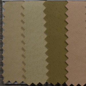 Pig Skin Grain Artificial PU Leather for Bag (HST026) pictures & photos