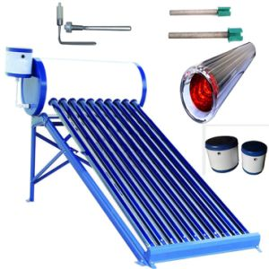 Panel Water Heater Unpressure Vacuum Tube Solar Collector Solar Water Heater pictures & photos