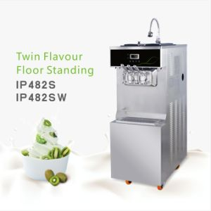 Stainless Steel Ice Cream Machine with Pre-Cooling IP482s