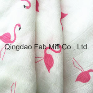 Organic Cotton and Bamboo Muslin Swaddle pictures & photos