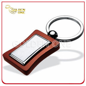 Superior Quality Laser Engraving Wooden Key Chain pictures & photos