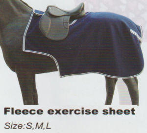 Waterproof Exercise Sheet&Fleece Exercise Sheet&Fleece Riding Rug pictures & photos