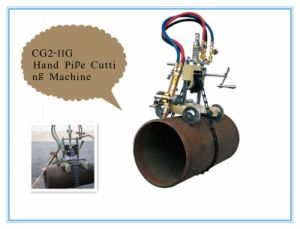 Hand-Control Cg2-11g Pipe Gas Cutting Machine pictures & photos
