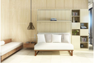 Modern Murphy Wall Bed with Living Room Sofa pictures & photos