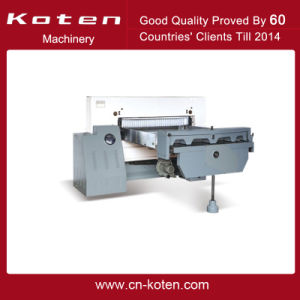 Digital Displayed Type Paper Cutter Model (QZYX-D Series) pictures & photos
